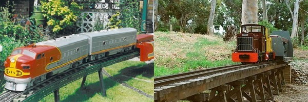 A Garden Railway you can Ride On!
