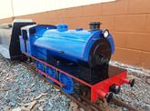 Hunslet Austerity - Steam-Outline electric